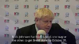 Boris Johnson: Personal accusations are politically motivated to 'frustrate Brexit' [Video]