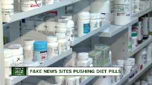 News video: Don't Waste Your Money: Fake news sites pushing diet pills