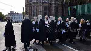 Westminster wig out: UK judiciary mark start of new legal year with special service at Abbey [Video]