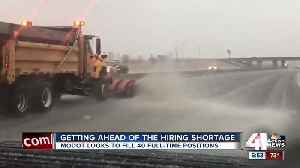 MoDOT looking to hire 40 maintenance workers ahead of winter season [Video]