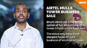 Airtel mulls sale of tower business amid price war with Reliance Jio [Video]