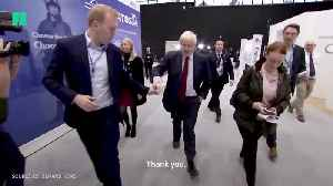Boris Johnson Has Disposable Coffee Cup Snatched Away By Aide [Video]