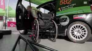 Man Becomes This Country's First Race Car Driver Who Uses a Wheelchair [Video]