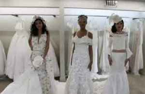 Take a look at the wedding dress made from crocheted toilet paper [Video]
