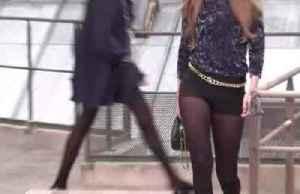 Catwalk invader crashes Chanel show [Video]
