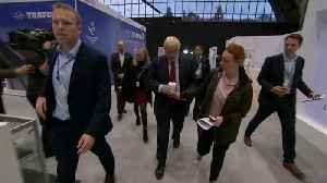 Boris Johnson's disposable coffee cup whisked away as aide tries to protect his green credentials [Video]