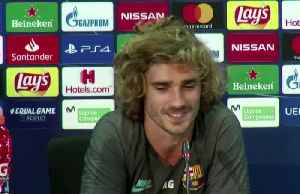 News video: Griezmann talks relationship with Messi