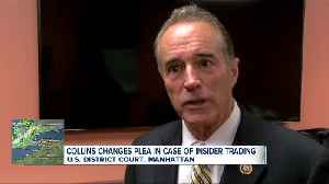 News video: Former Congressman Chris Collins pleads guilty to insider trading charges