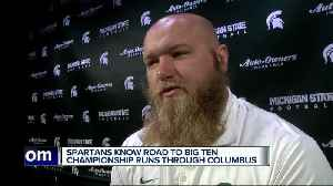 News video: Spartans know road to Big Ten title runs through Columbus