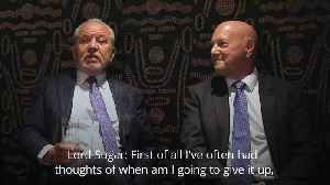 Lord Sugar: I may give up The Apprentice after 20th season [Video]