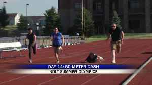 KDLT Summer Olympics: 50 Meter Dash [Video]