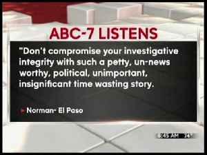 ABC-7 Listens 09.03.16 [Video]