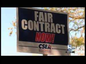 CSEA, Sheriff's Union express renewed frustration at county [Video]