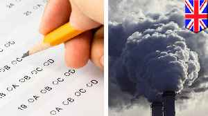 Exposure to air pollution lowers students' test results, study finds [Video]
