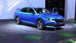 The new Skoda Superb iV presented at 2019 IAA [Video]