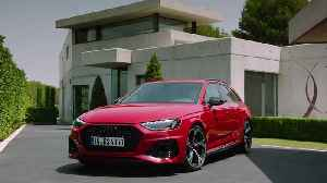 The updated Audi RS 4 Avant Design Preview [Video]