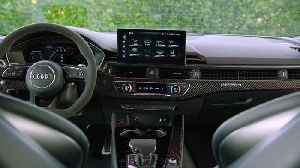 The updated Audi RS 4 Avant Interior Design [Video]