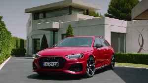 The updated Audi RS 4 Avant Exterior Design [Video]