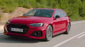 The updated Audi RS 4 Avant Driving Video [Video]