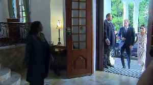 Sussexes meet South Africa's President Ramaphosa [Video]