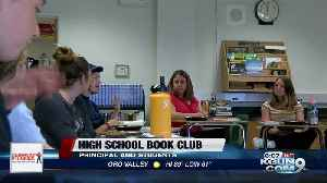 Principal, high school students gather for book club [Video]