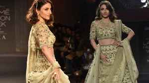 Soha Ali Khan Ramp Walk At Fashion Show 2019 [Video]