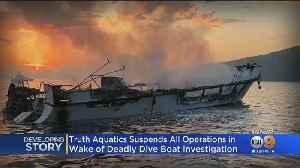 Truth Aquatics, Santa Barbara Boat Owner, Suspends Operations Following Fire That Killed 34 [Video]