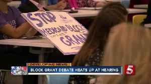 Critics sound off at Tennessee Medicaid block grant forum [Video]