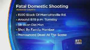 Police Investigating Fatal Domestic Shooting At Marriottsville Residence [Video]