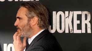 News video: Joaquin Phoenix barely talked to Robert De Niro on 'Joker' set
