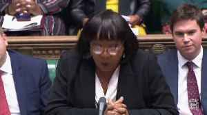 Diane Abbott On PMQs Telling Tory MPs To Treat Women 'Less Cruelly' [Video]