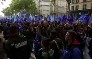 French police march in Paris for 'concrete action' against poor working conditions [Video]