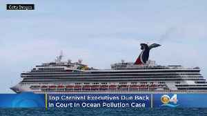 Top Carnival Executives, Including Micky Arison, Due Back In Court In Ocean Pollution Case [Video]