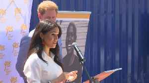 News video: Prince Harry, Meghan Markle Speak At YES Hub