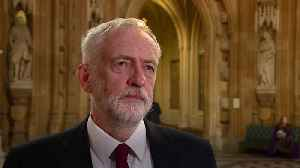 News video: Jeremy Corbyn: Proposed new Brexit deal worse than Theresa May's