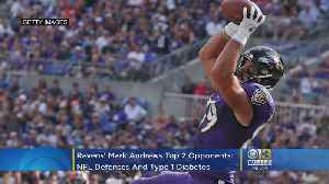 Ravens' Mark Andrews Is Having A Breakout Season. His Two Opponents: NFL Defenses And Type 1 Diabetes [Video]