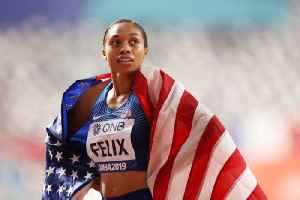 Allyson Felix Breaks Usain Bolt's World Titles Record [Video]