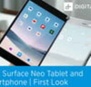 Microsoft Surface Neo and Duo First Look [Video]