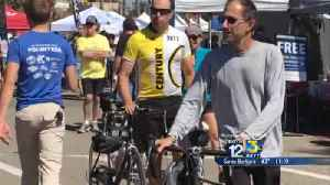 Ventura Marathon Beach Party begins with cycling event [Video]