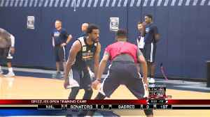 Grizzlies Open Training Camp [Video]