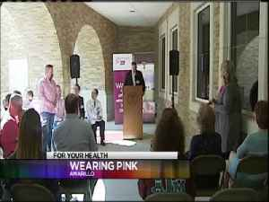 Real Men Wear Pink Campaign Kick Off [Video]