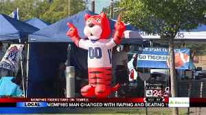 Memphis Tigers Take On Temple [Video]