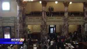 Legislators Continue Meetings [Video]