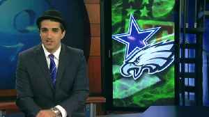 Dan hat two Eagles Cowboys [Video]