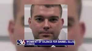 Moment of Silence for Officer Daniel Ellis [Video]