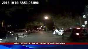 Syracuse Police Officer cleared in shooting death [Video]