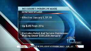 Small Bump is Missouri Minimum Wage Coming in 2017 [Video]
