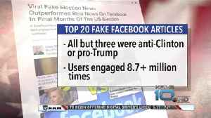 Fake News on Facebook Engages More People than You'd Think [Video]