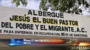 Central American Immigrants Heading to the U.S. [Video]