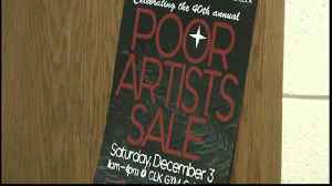 'Poor Artists Sale' in Calumet attracts hundreds [Video]